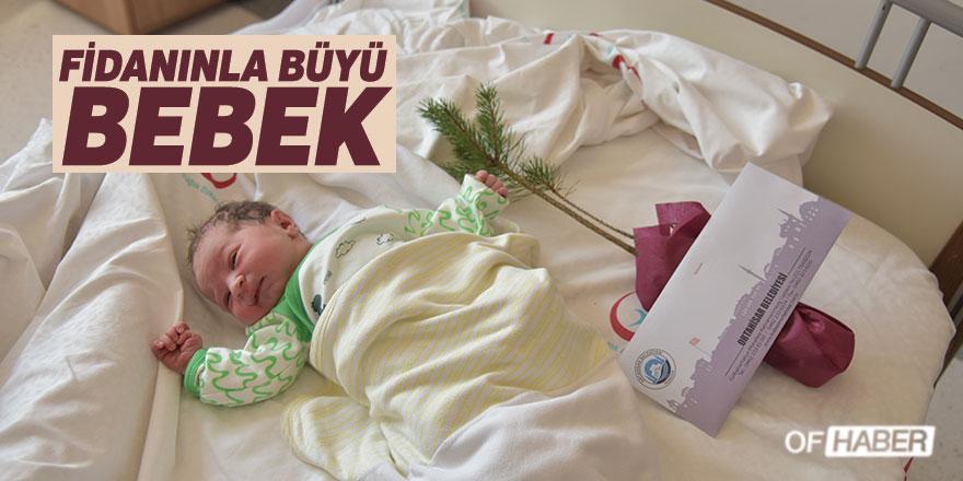 """Trabzon'da """"Fidanınla Büyü Bebek"""" Projesi"""