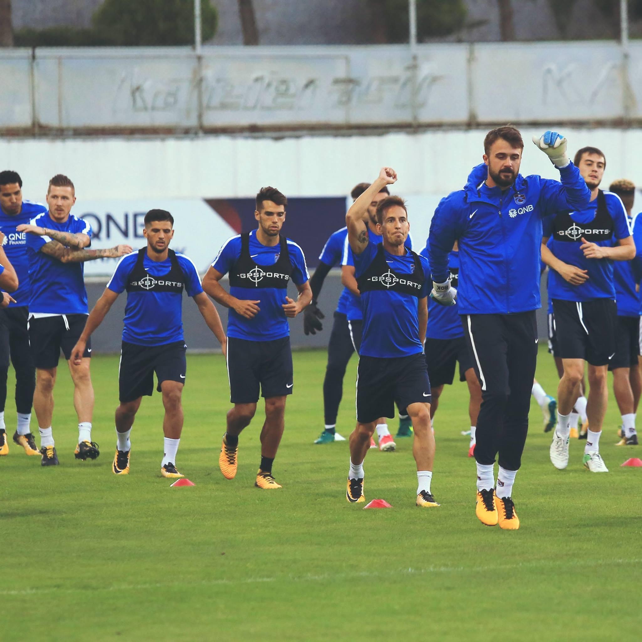 Trabzonspor'da, Gençlerbirliği maçı hazırlıkları