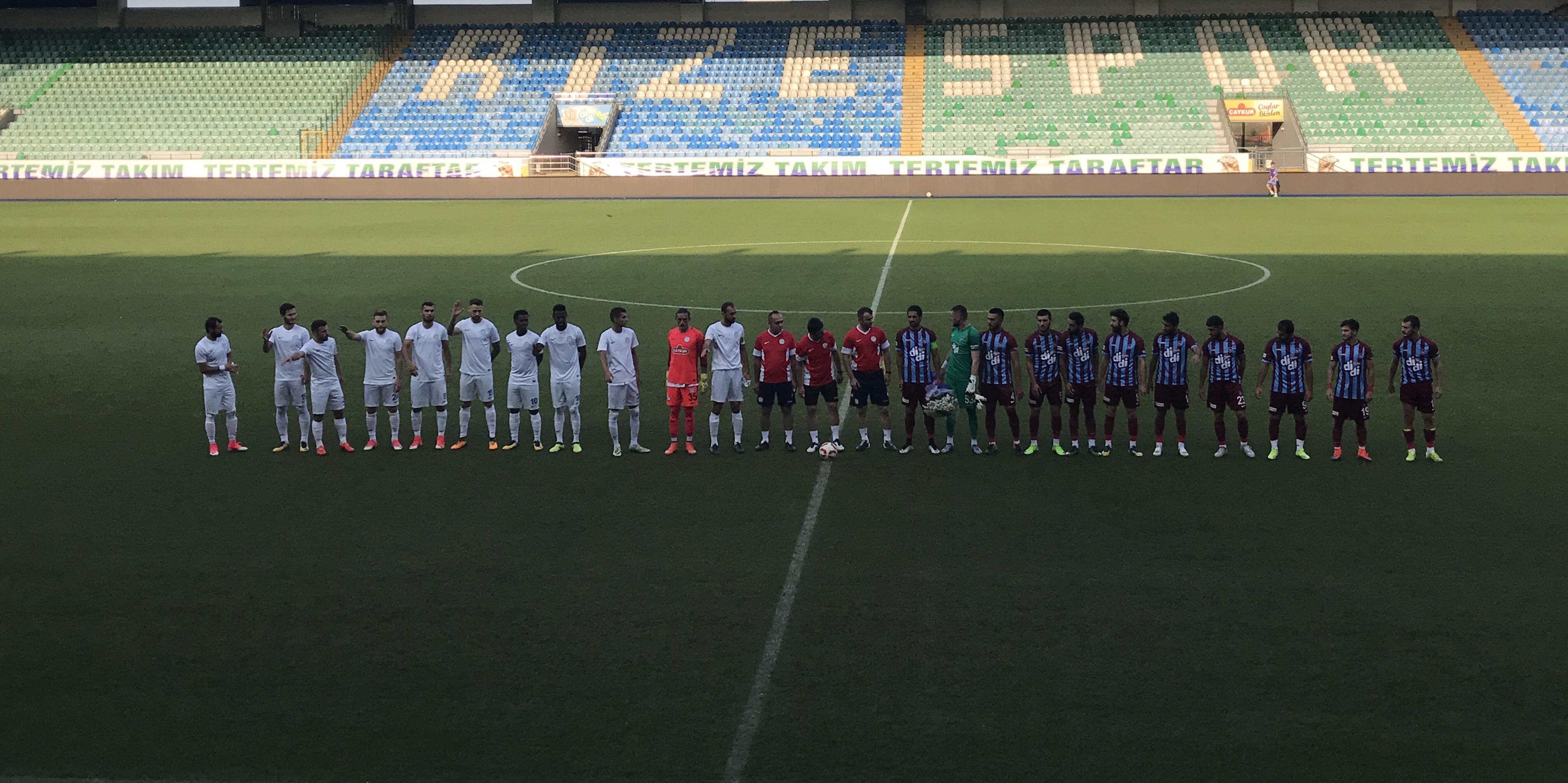 Hazırlık Maçı: Ofspor 0-1 Rizespor