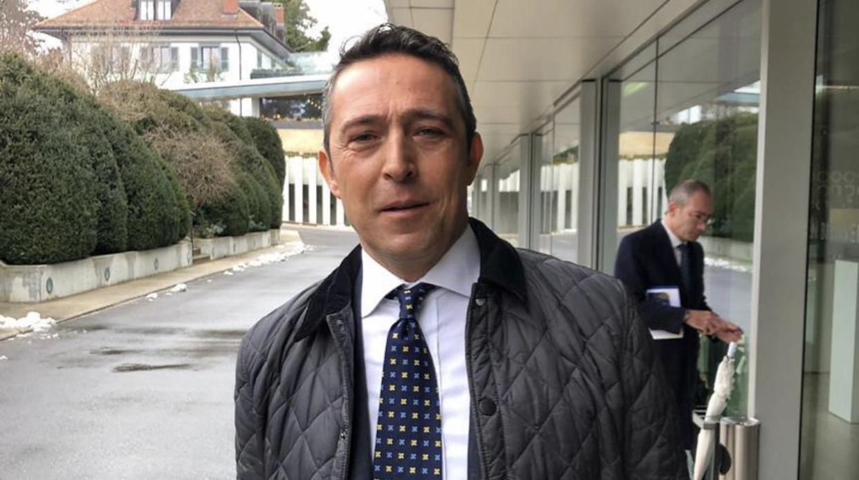 Ali Koç, İsviçre'de UEFA Yetkilileri ile Görüştü
