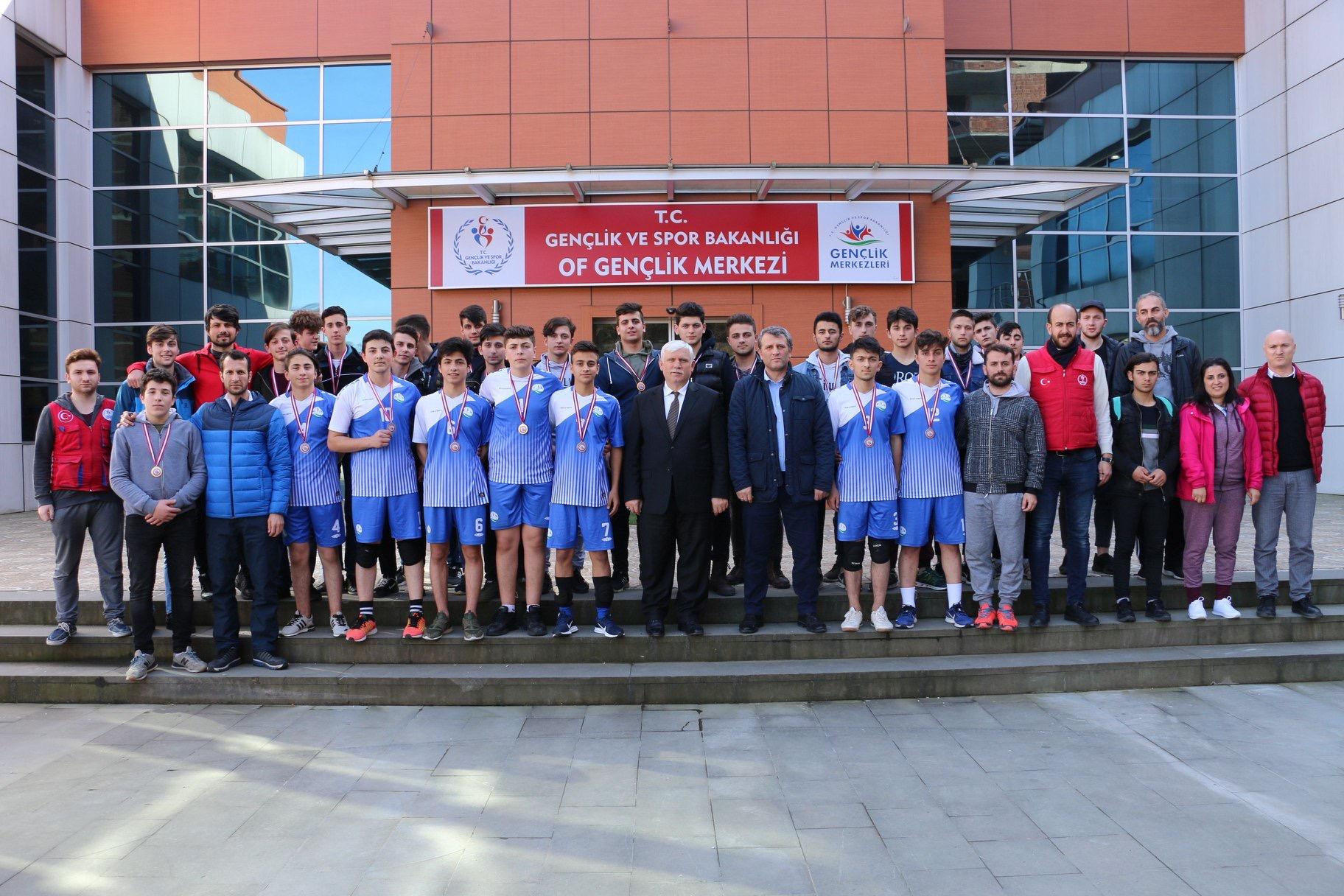 Voleybolda Şampiyon, Of Hacı Mehmet Bahattin Ulusoy MTA Lisesi