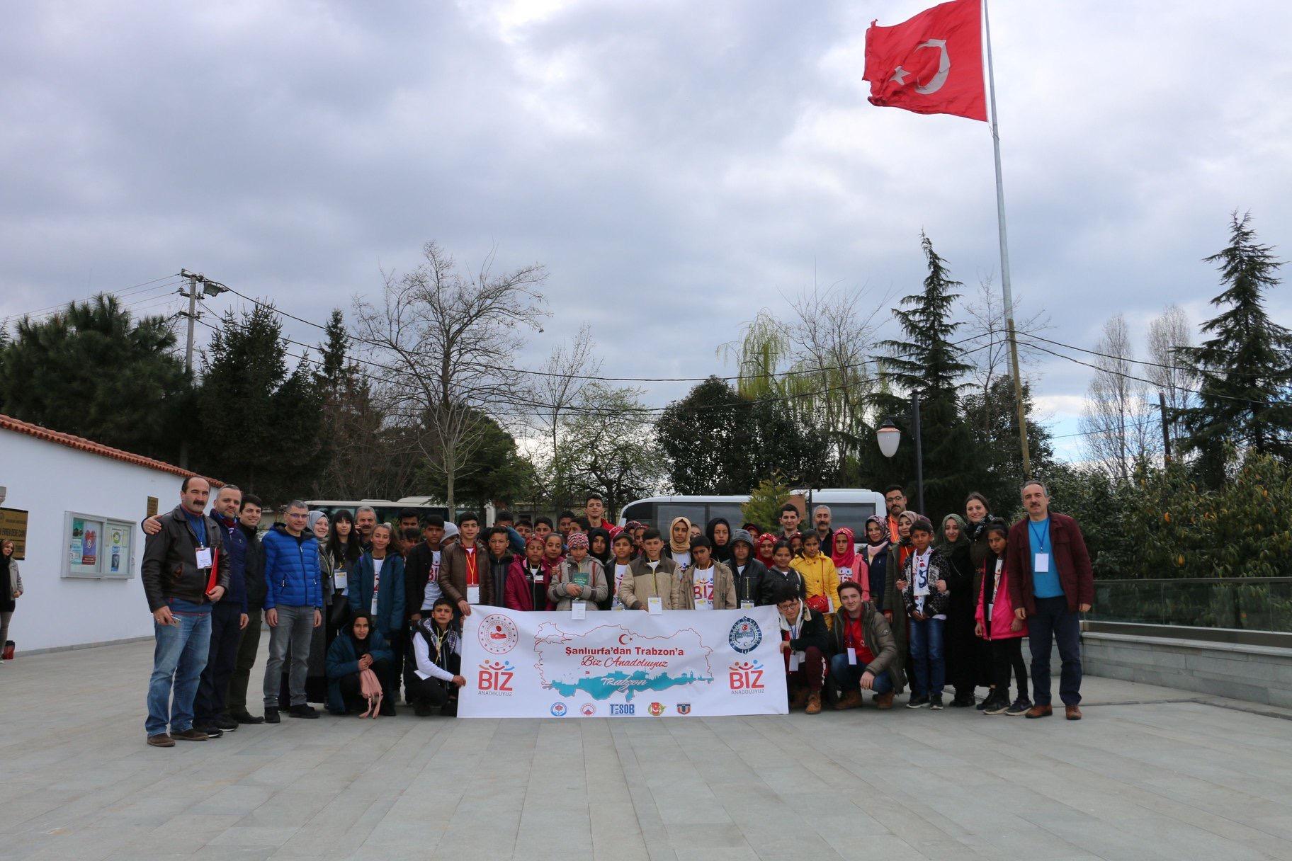 Urfa'dan Trabzon'a yeni gönül köprüleri kuruldu