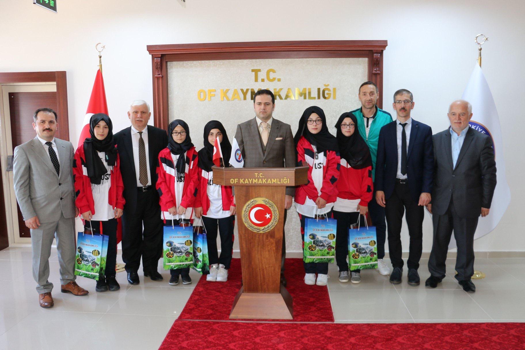 Of, Kireçli Dursun Dumangöz Ortaokulu Bocce Şampiyonu