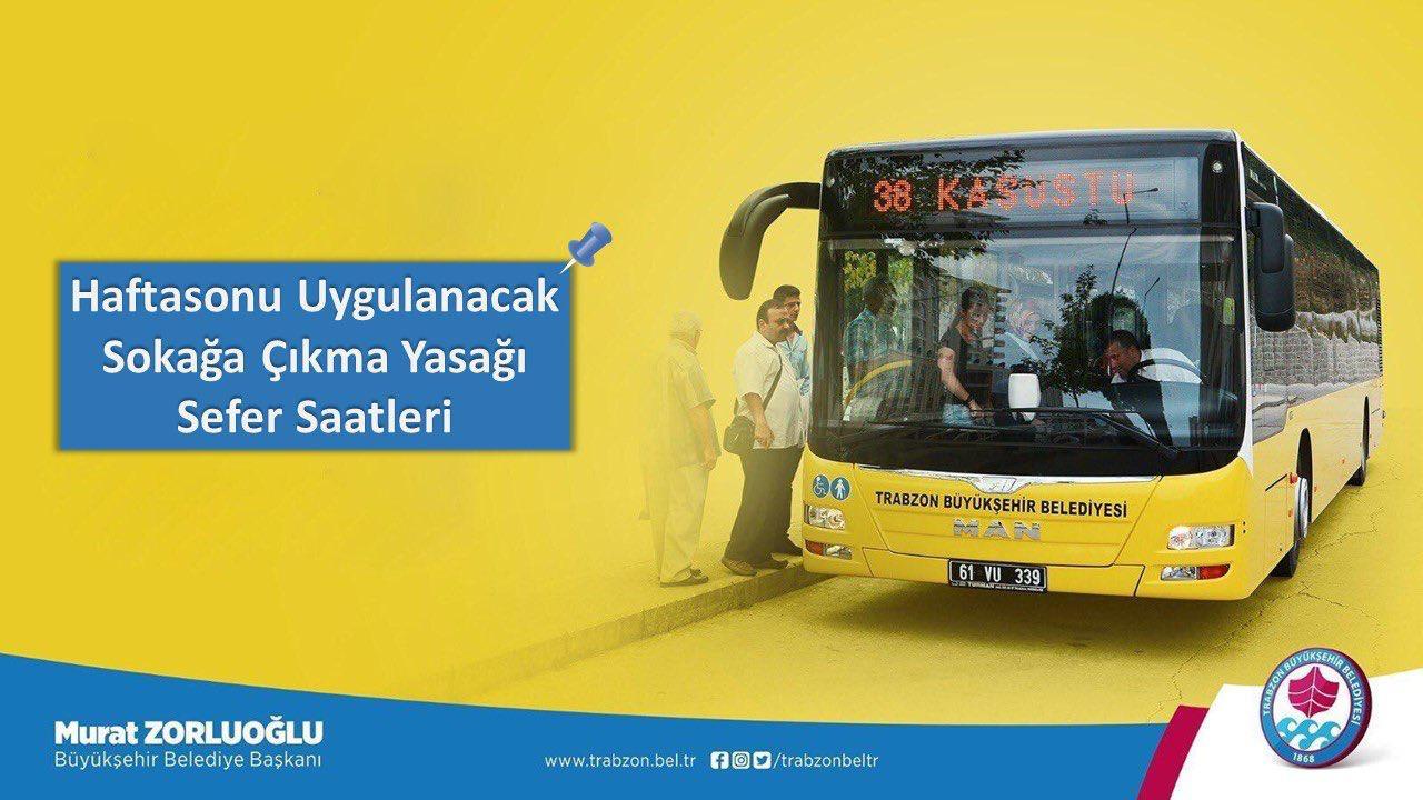 Büyükşehir'den Toplu Ulaşıma Yılbaşı ve Hafta Sonu Düzeni