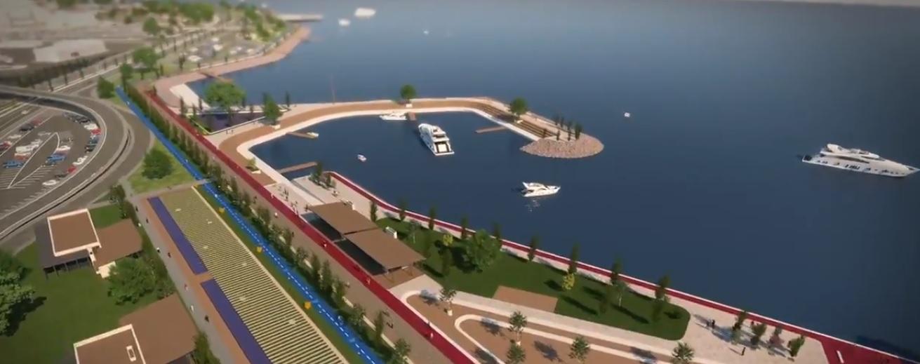 Ganita-Faroz Sahil Düzenleme Projesi Böyle Tanıtıldı