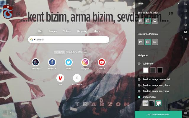 Trabzonspor temalı Google Chrome eklentisi yayında!