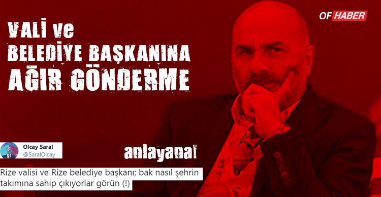 OLCAY SARAL'DAN TEBRİK SİTEMİ