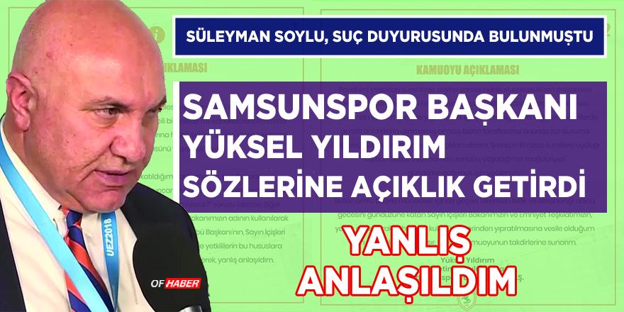 """""""SÜLEYMAN SOYLU'NUN OĞLU DEDİLER"""""""