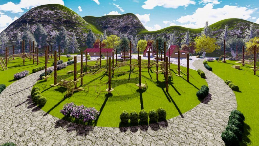 """Uzungöl Tabiat Macera Parkı""""nın Yapımına Başlandı"""