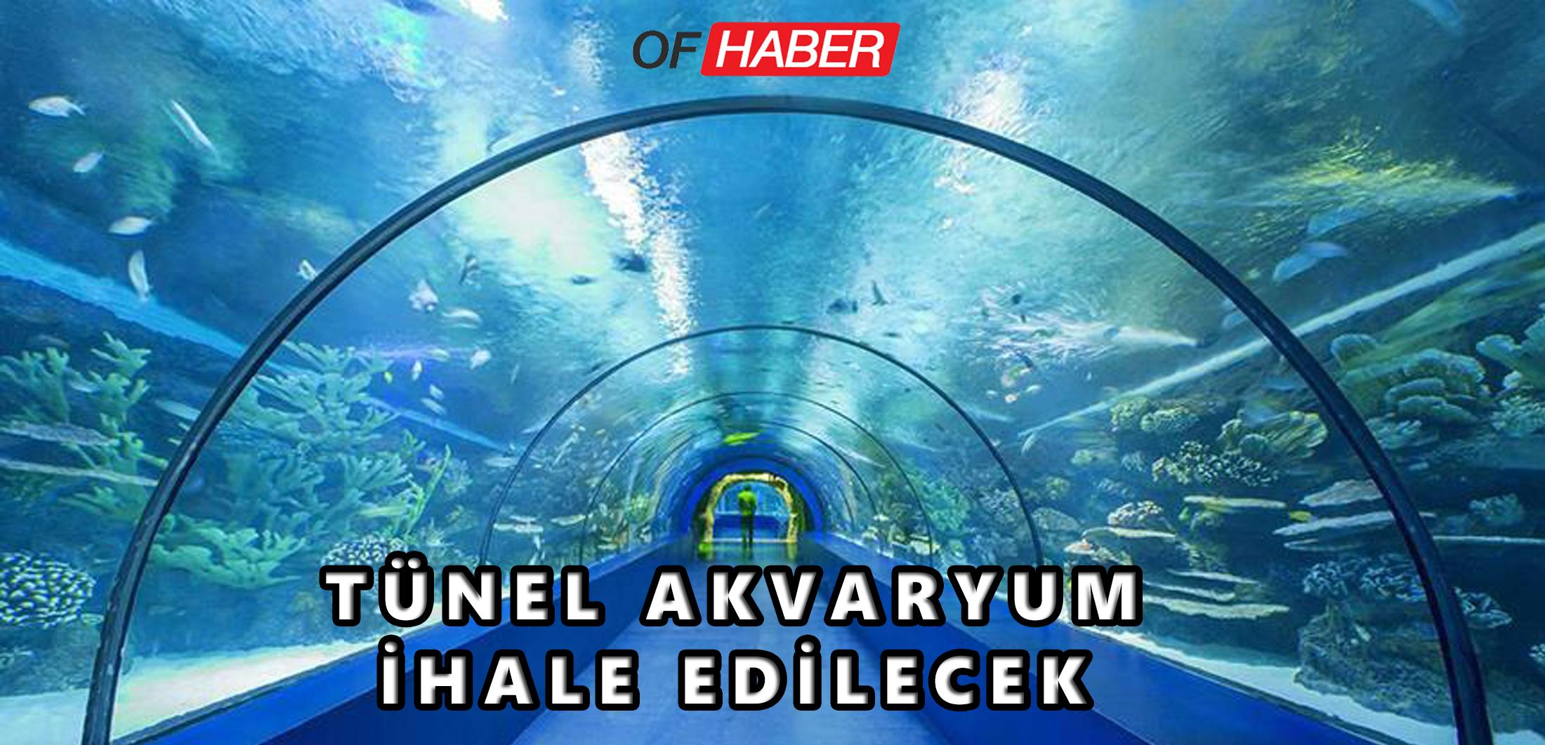 """""""Tünel Akvaryum"""" İhale Edilecek"""