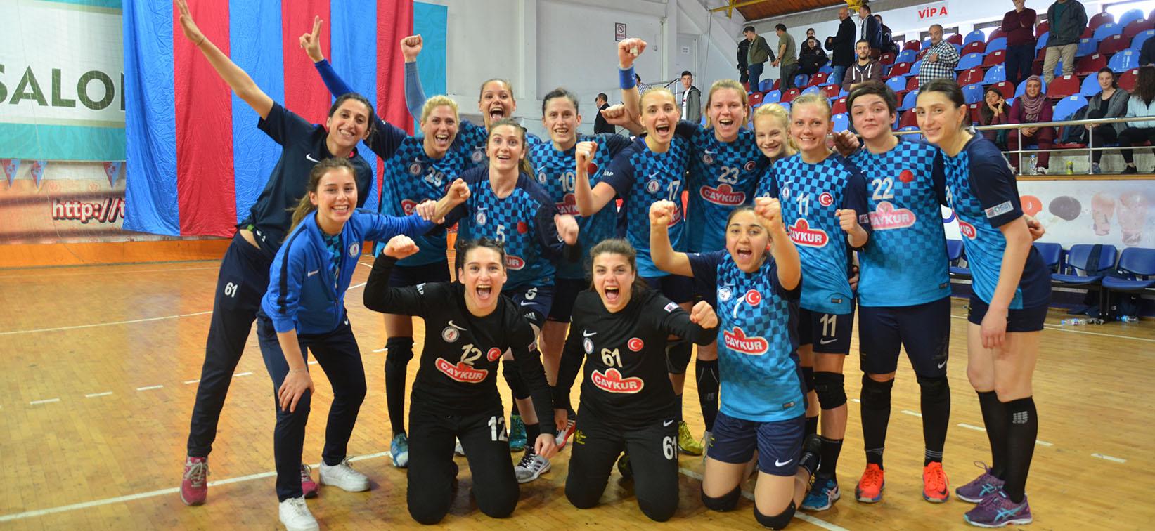Zağnosspor'da Çeyrek Final Sevinci
