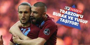 Trabzonspor'u, Burak Yılmaz Ve Yusuf Yazıcı Taşıyor