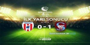 İlk Yarı: Çanakkale Dardanelspor SK 0 - 1 OFSPOR'UMUZ