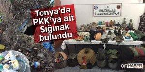 Trabzon'da Terör Örgütünün Kullandığı Sığınak Bulundu