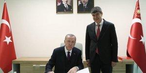 ERDOĞAN, ANTALYA BELEDİYE BAŞKANI TÜREL'İ KABUL ETTİ