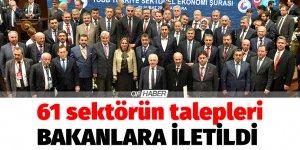 Türkiye Sektörel Ekonomi Şurası toplandı.