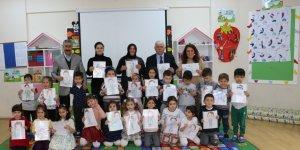 Of'ta Babalar Çocuklarına Okulda Mesleklerini Anlatıyor