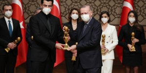 Cumhurbaşkanı Erdoğan, Medya Oscar Ödülleri Töreni'ne katıldı